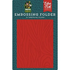 Zebra - Echo Park Embossing Folder