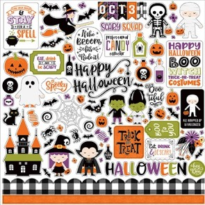 Happy Halloween 12x12 Element Sticker - Echo Park