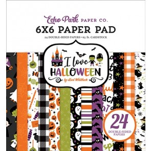 Happy Halloween - Blocco di carte Echo Park 15x15 cm
