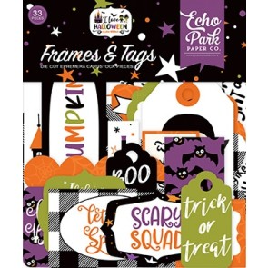 Happy Halloween Frames & Tags - Echo Park