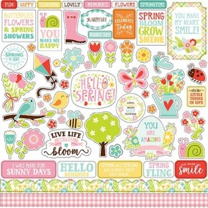 Spring Fling Element Stickers - Echo Park