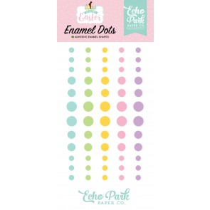 Welcome Easter Enamel Dots - Echo Park