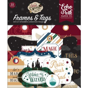 Witches & Wizards No.2 Frames & Tags Die Cuts - Echo Park