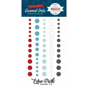 A Perfect Winter Enamel Dots - Echo Park