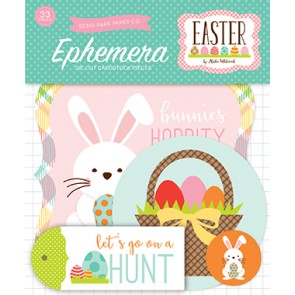Easter Ephemera Die Cuts - Echo Park