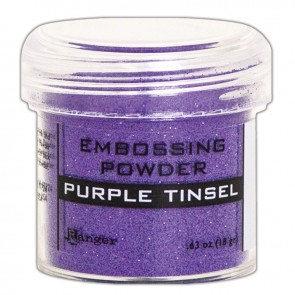 Purple Tinsel - Polvere da embossing Ranger