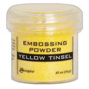 Yellow Tinsel - Polvere da embossing Ranger
