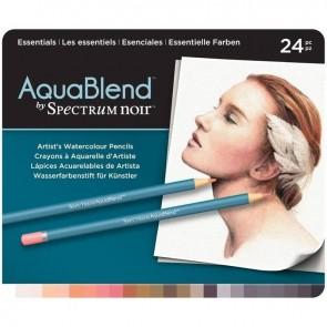 Essentials - Set da 24 Matite Aquablend Spectrum Noir