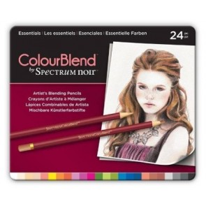 Essentials - Set da 24 Matite Colourblend Spectrum Noir