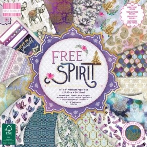 Free Spirit - Blocco di carte First Edition 20x20 cm