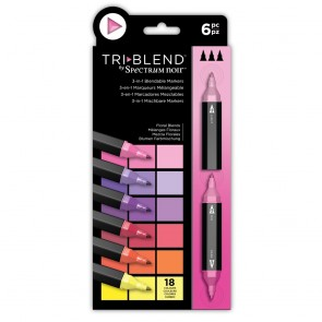Floral Blends - 6 Set - Spectrum Noir TriBlend