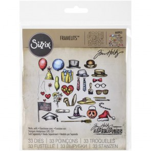 Crazy Things - Fustella Framelits Tim Holtz