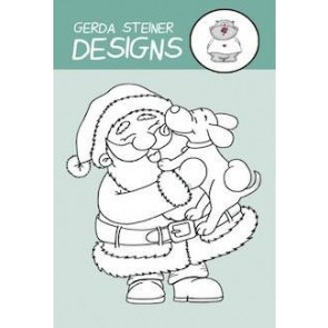 Puppy Kisses for Santa - Timbro Gerda Steiner Design