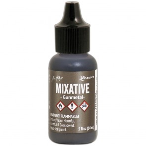 Gunmetal Mixative - Tim Holtz Alcohol Ink