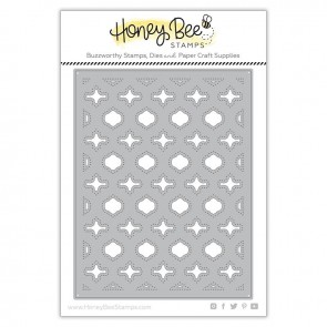 Base Quatrefoil A2 Cover Plate - Fustella Honey Bee