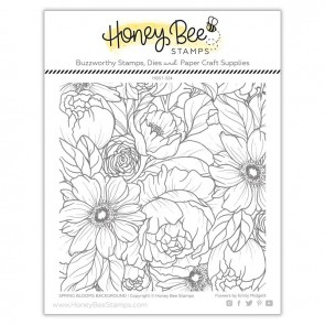 Spring Blooms Background - Timbro Honey Bee