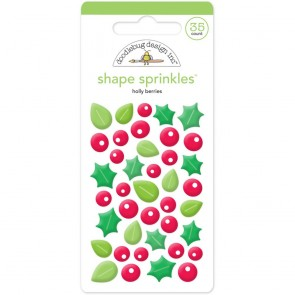 Holly Berries Sprinkles - Doodlebug
