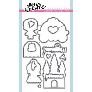 Happily Ever Crafter - Fustella Heffy Doodle