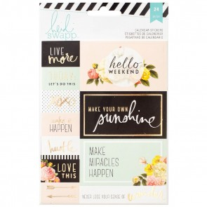 Calendar Stickers - Accessori per Planner by Heidi Swap