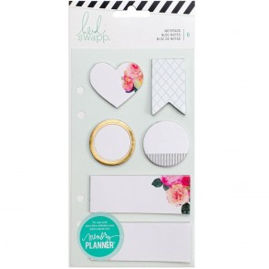 Notepads White - Accessori per Memory Planner
