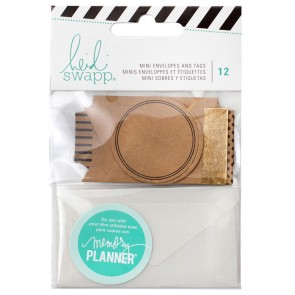 Mini Envelopes and Tags  - Accessori per Memory Planner