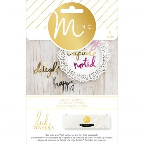 Paper Words - Complementi Minc by Heidi Swapp