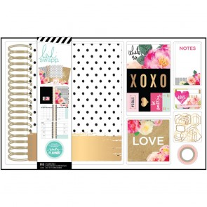 Large Spiral Boxed Kit - Memory Planner by Heidi Swapp