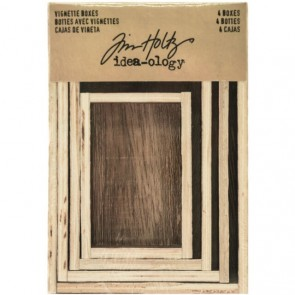 Vignette Boxes - Tim Holtz Idea-ology