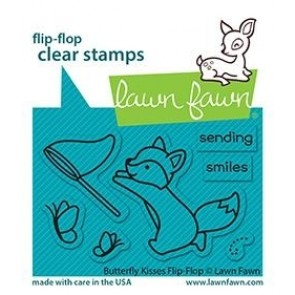 Butterfly Kisses Flip-Flop  - Timbro Lawn Fawn