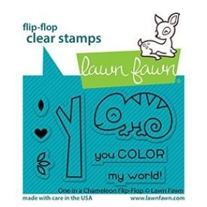 One in a Chameleon Flip-Flop - Timbro Lawn Fawn