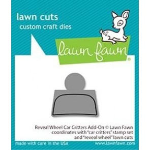 Car Critters - Reveal Wheel Add-on - Fustella Lawn Fawn