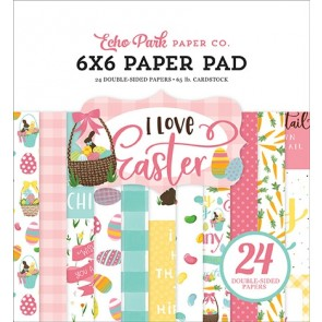 I Love Easter - Blocco di carte Echo Park 15x15 cm