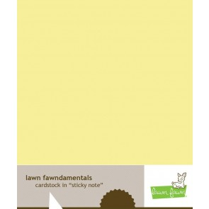 Sticky Note - Cartoncino Lawn Fawn