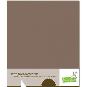 Chocolate Bar - Cartoncino Lawn Fawn