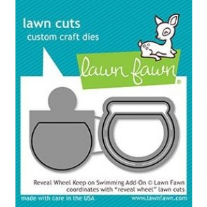Keep on Swimming - Reveal Wheel Add-on - Fustella Lawn Fawn