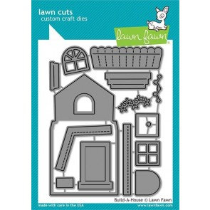 Build-a-House - Fustella Lawn Fawn