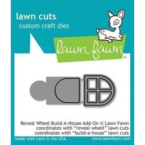 Build-A-House - Reveal Wheel Add-on - Fustella Lawn Fawn