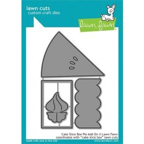 Cake Slice Box Pie Add On - Fustella Lawn Fawn