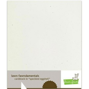 Speckled Eggshell - Cartoncino Lawn Fawn