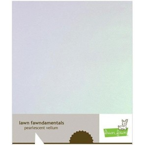 Pearlescent Vellum - Cartoncino Lawn Fawn