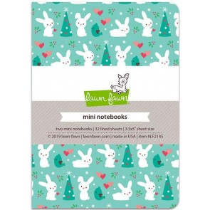 Snow Day Remix Mini Notebooks - Lawn Fawn