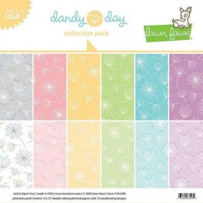 Dandy Day Collection Pack - Blocco di carte Lawn Fawn 30x30 cm