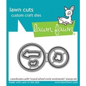 Circle Sentiments Reveal Wheel - Fustella Lawn Fawn