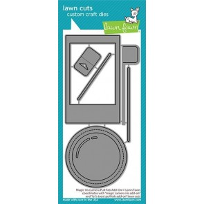 Magic Iris Camera Pull-Tab Add On - Fustella Lawn Fawn