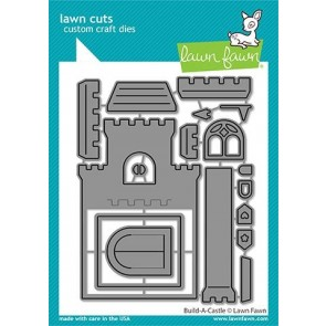 Build-a-Castle - Fustella Lawn Fawn