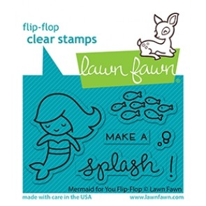 Mermaid for You Flip-Flop - Timbro Lawn Fawn