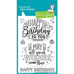 Giant Birthday Messages - Timbro Lawn Fawn