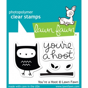 Timbro Lawn Fawn- You're a Hoot
