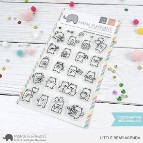 Little Bear Agenda - Timbro Mama Elephant