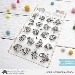 Little Mermaiden Agenda - Timbro Mama Elephant